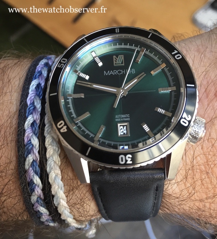 March LAB Bonzer Forest - French watch