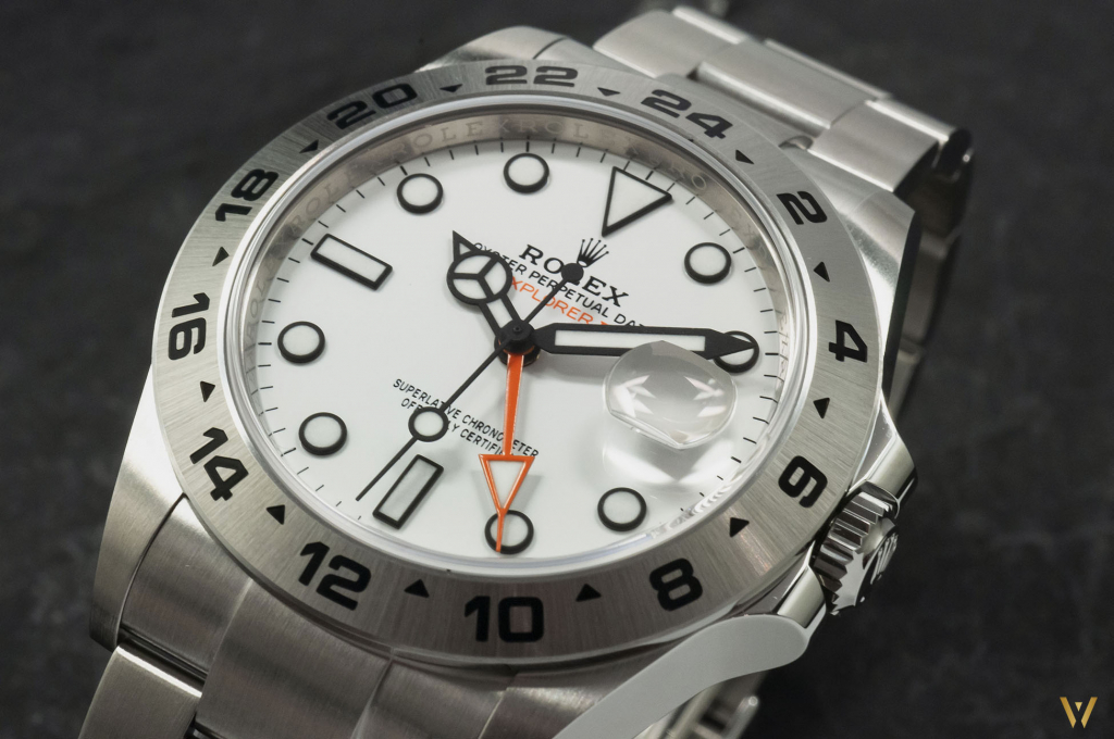 What's new on the Rolex Explorer II ref. 226570 Polar dial?