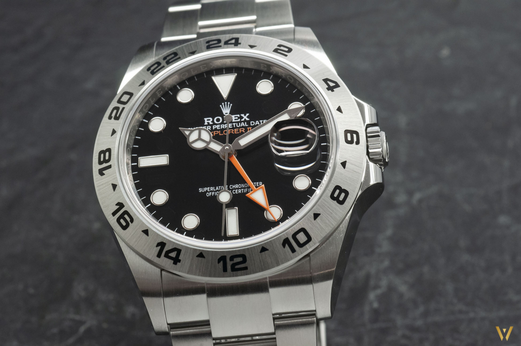 a black lacquered dial for new Rolex Explorer II ref. 226570